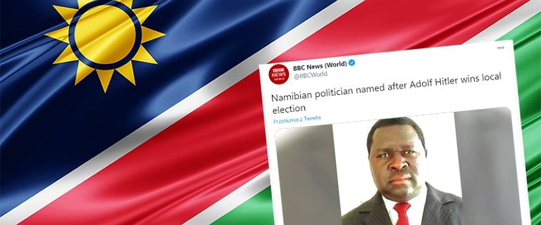"""Namibia. Adolf Hitler wygrał lokalne wybory. """"To było dla mnie normalne imię"""""""