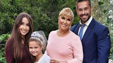 Katarzyna Skrzynecka świętuje Pierwszą Komunię Świętą córki. 'Rumianki i welonik'