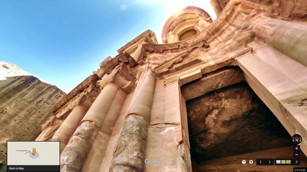 Petra - miasto, które odkryjesz dzięki Google Street View
