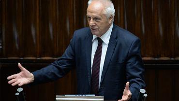 Stefan Niesiołowski zrzekł się immunitetu poselskiego