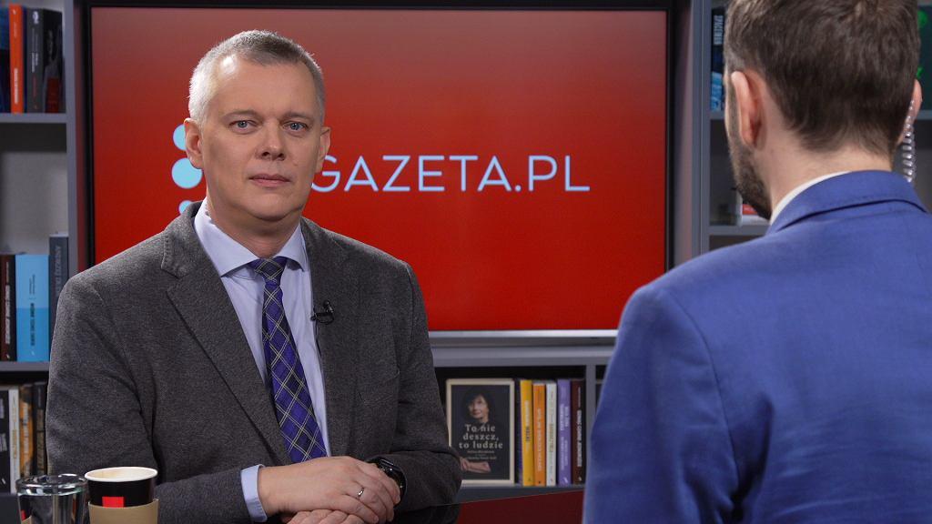 Tomasz Siemoniak gościem Gazeta.pl