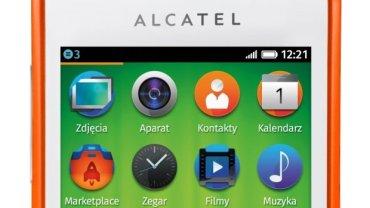 Alcatel One Touch Fire - pierwszy telefon sprzedawany w Polsce z systemem Firefox OS. Tydzień wcześniej w Hiszpanii zadebiutował ZTE One z tym samym systemem