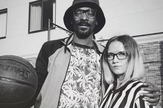 Iza Lach ze Snoop Doggiem