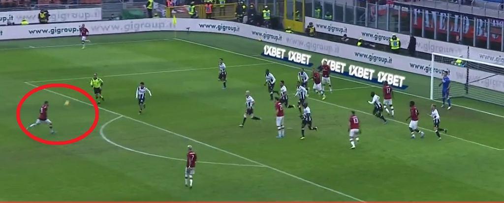 Przepiękny gol Theo Hernandeza dla Milanu