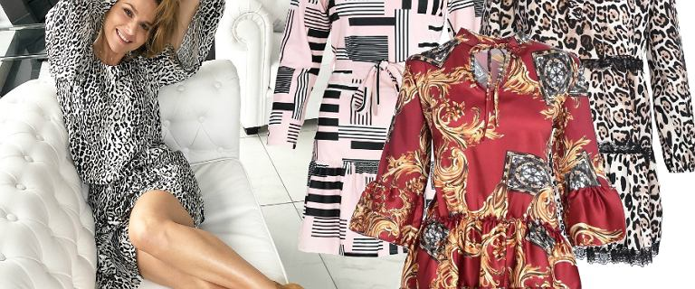 Wzorzyste sukienki na wiosnę 2019. Najmodniejsze modele w cenach do 150 zł!