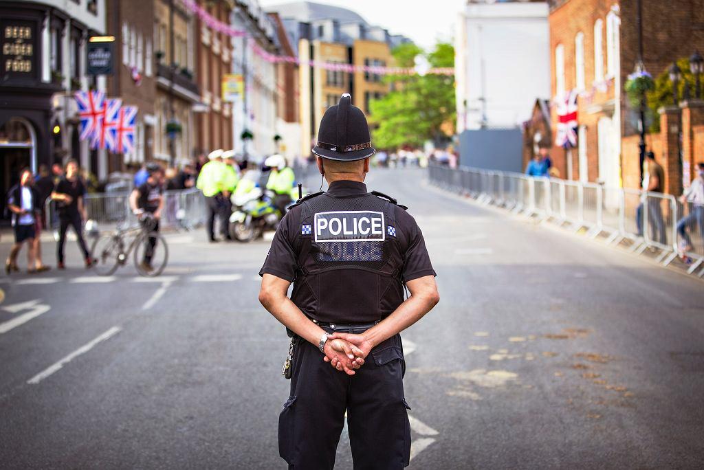 Policja, Wielka Brytania (zdjęcie ilustracyjne)