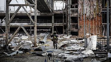 Donieck, Ukraina - port lotniczy
