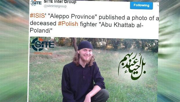 IS opublikowało wizerunek tego mężczyzny