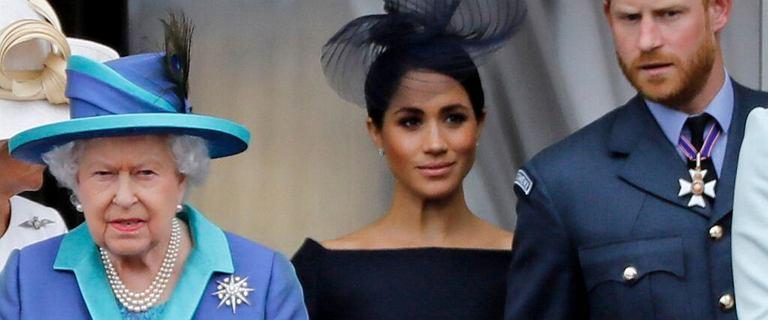 Megxit był do uniknięcia? Królowa złożyła Meghan i Harry'emu propozycję przed ślubem
