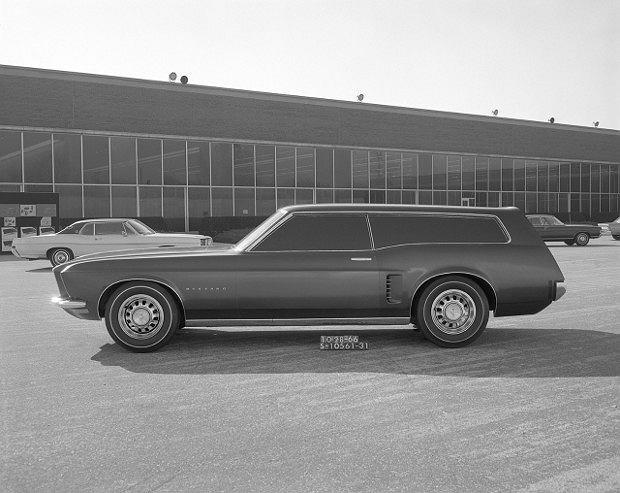 1966 Mustang Station Wagon