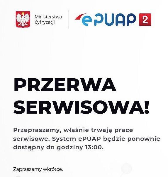 Użytkownicy ePUAP skarżą się, że system nie działa