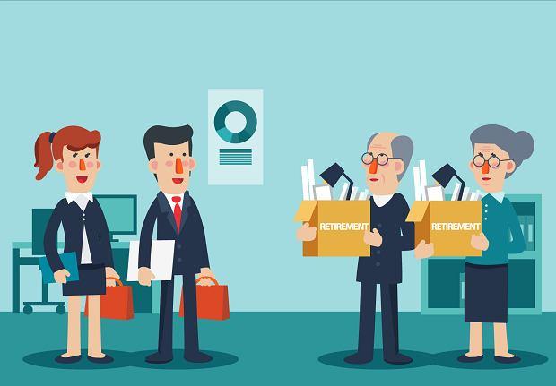 Milenialsi i boomerzy konkurują m.in. na rynku pracy
