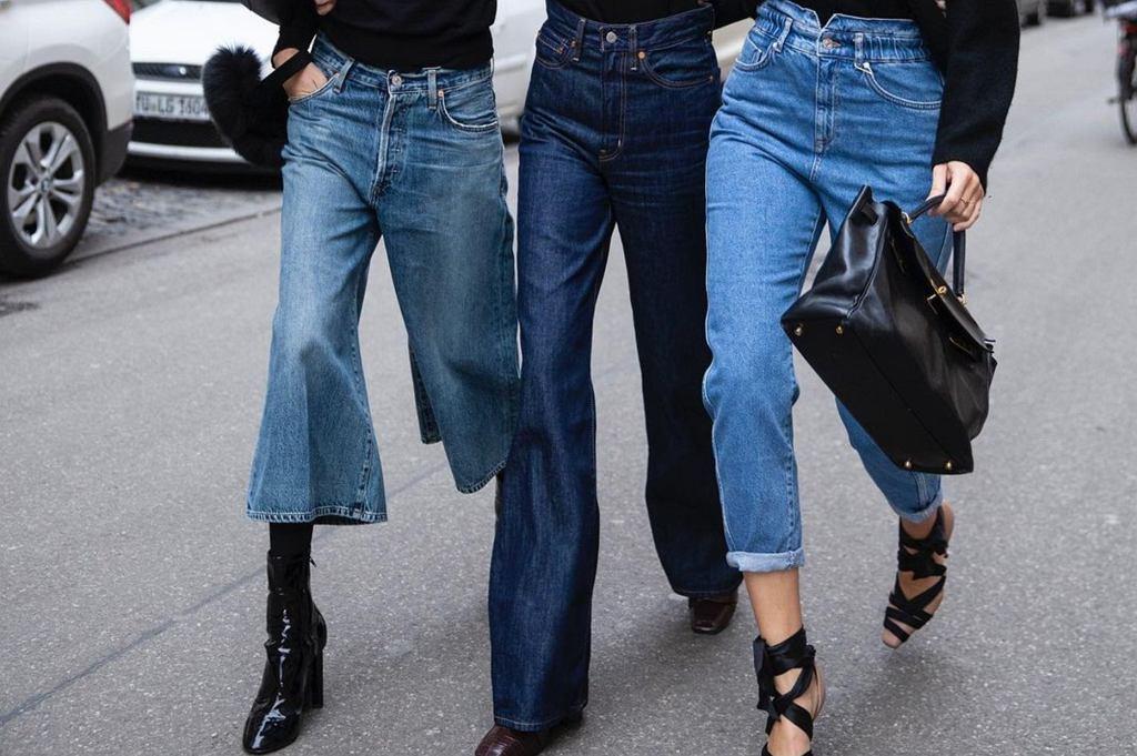 modne jeansy 2021