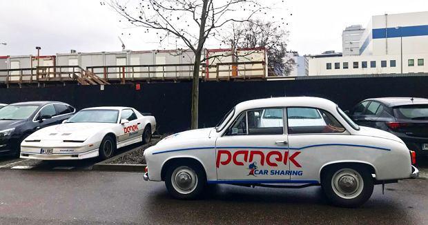 Pontiac Trans Am, Syrena, Panek CarSharing