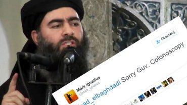 Zdjęcie przedstawiające rzekomo przywódcę PI, Abu Bakra al-Bagdadiego