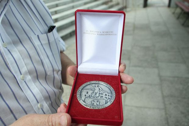 Pan Tadeusz z medalem