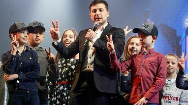 Wybory na Ukrainie. Kandydat na prezydenta Wołodymyr Zełenski