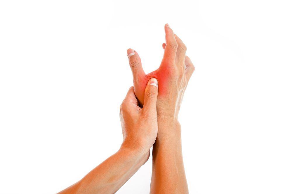 W przypadku tężyczki jawnej skurcz mięśni dłoni pojawia się najczęściej w obrębie kciuka