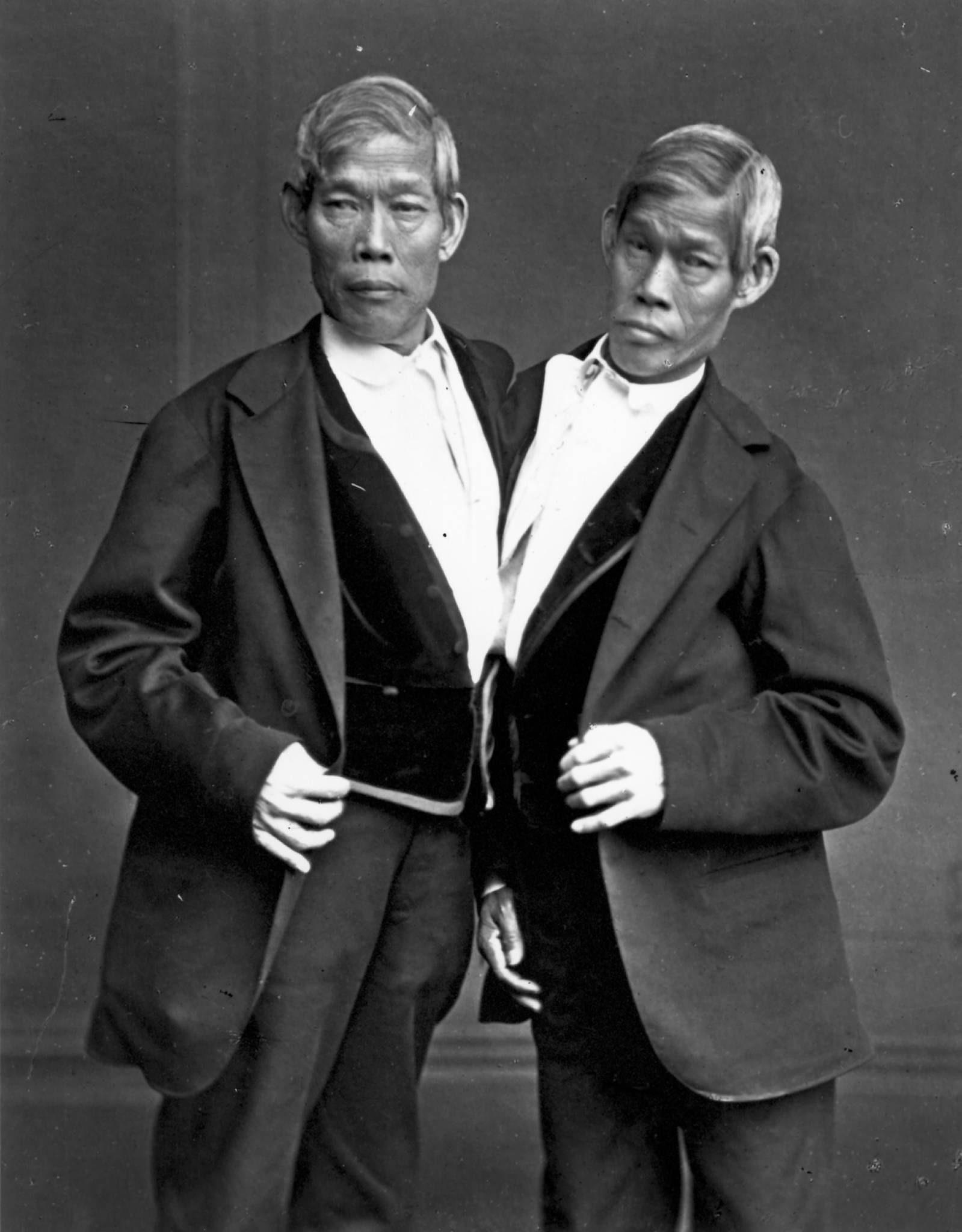 Bracia bliźniacy spotykają się ze sobą