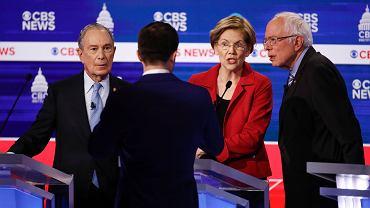 Debata kandydatów ubiegających się o nominację partii Demokratycznej