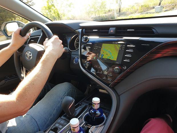 Nowa Toyota Camry - wnętrze