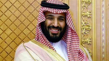 Muhammad ibn Salman, przyszły król Arabii Saudyjskiej.