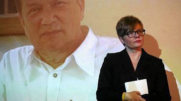 Patron nagrody - Krzysztof Kanigowski i jego córka - Ewa Kanigowska - Gedroyć