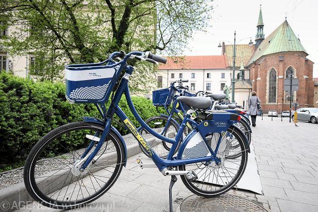 Rowery miejskie w Krakowie