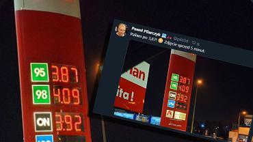 Cena paliwa na stacjach benzynowych spadła poniżej 4 zł/litr. Efekt koronawirusa i wojny paliwowej