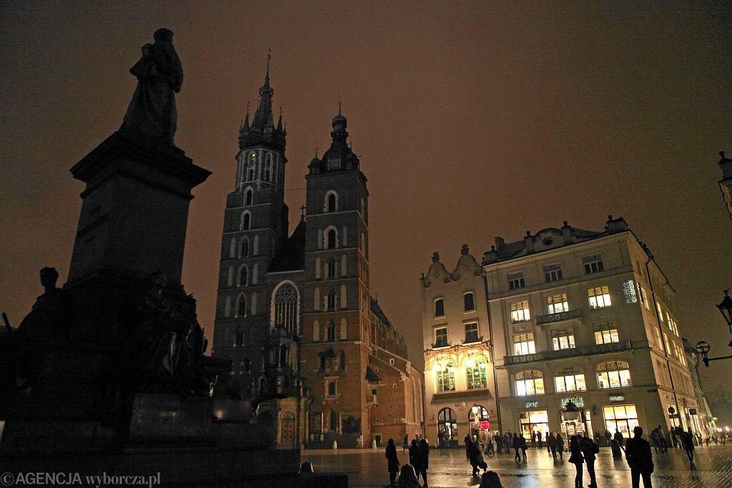 Kraków wyłączy oświetlenie uliczne. Nocą 'niemal nikt się nie przemieszcza' (zdjęcie ilustracyjne)