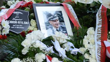 Pogrzeb gen. Zbigniewa Ścibora-Rylskiego