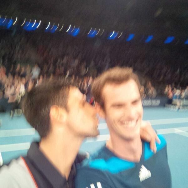 Murray, Djoković, światowy dzień tenisa