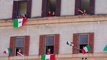 Pandemia koronawirusa. Dzień Wyzwolenia we Włoszech, 25 kwietnia 2020