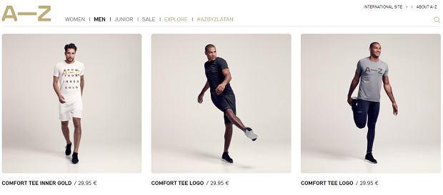 Sklep internetowy marki odzieżowej Zlatana Ibrahimovicia