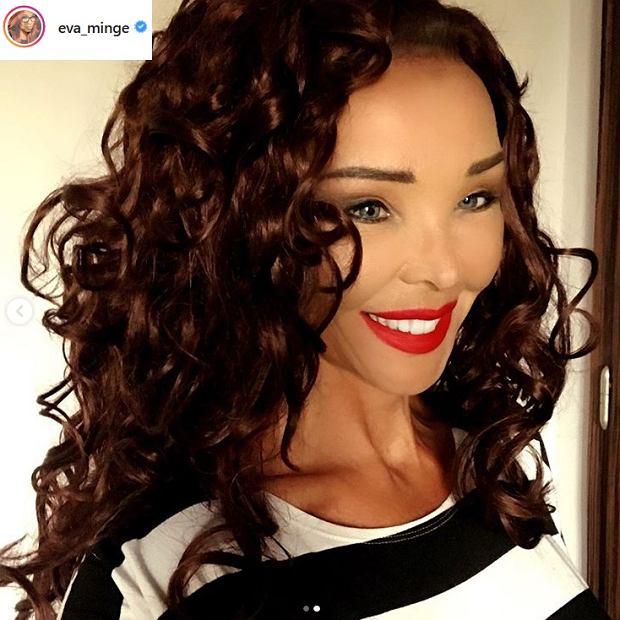 Eva Minge w nowym kolorze włosów
