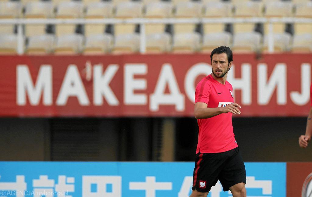 Grzegorz Krychowiak przed meczem z Macedonią Północną