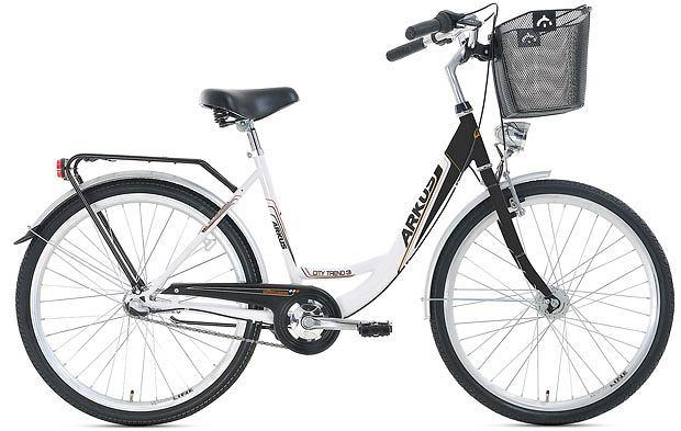 rowery, Przegląd stylowych miejskich rowerów, Rower Arkus City Trend 3. Cena: 930 zł