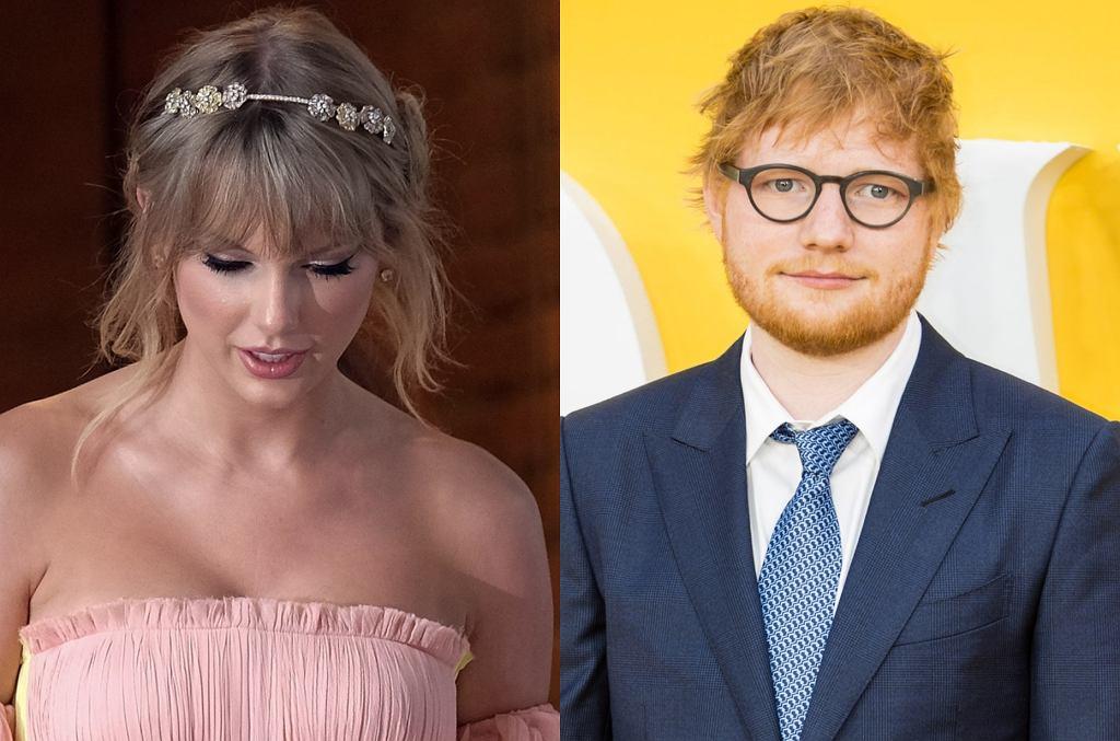 Taylor Swift i Ed Sheeran