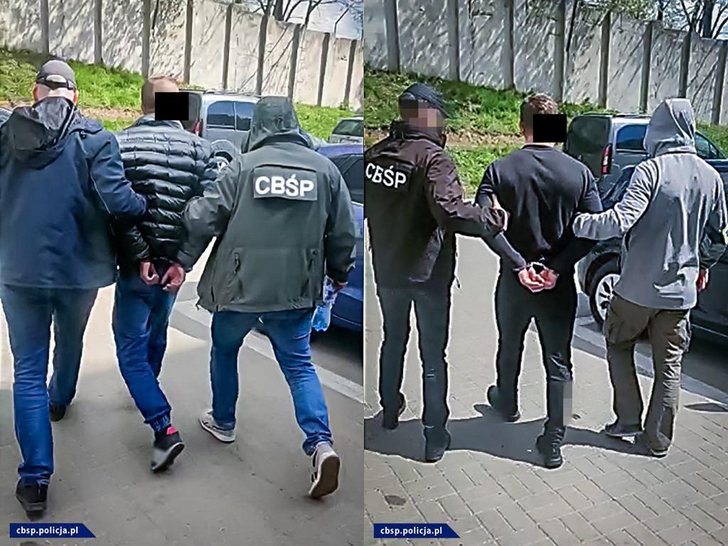 Policja zatrzymała oszustów, którzy wyłudzali VAT