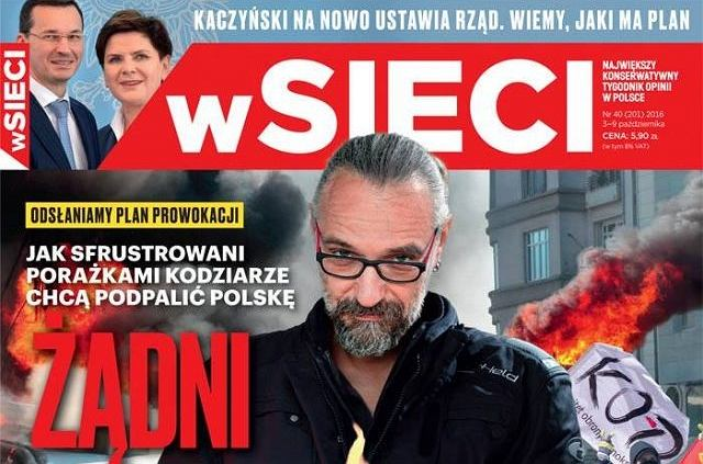 Kijowski na okładce