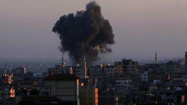 Izraelski nalot w Strefie Gazy