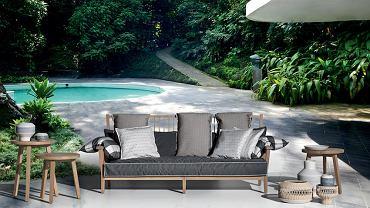 Meble z kolekcji Gervasoni sprawdzą się w domu i w ogrodzie