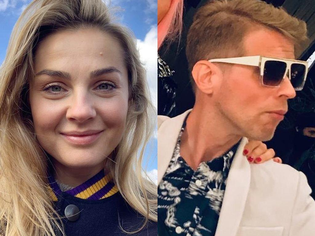 Małgorzata Socha i Łukasz Garlicki na planie 'BrzydUli'