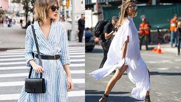 Sukienka koszulowa w trzech stylach
