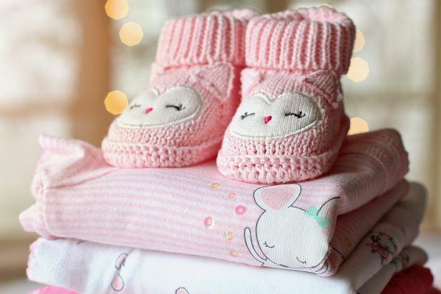 Różowe ubranka dla dzieci