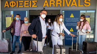 Południe Europy otwiera się na turystów. Na zdjęciu: lotnisko w Heraklionie, Kreta, 14 maja 2021
