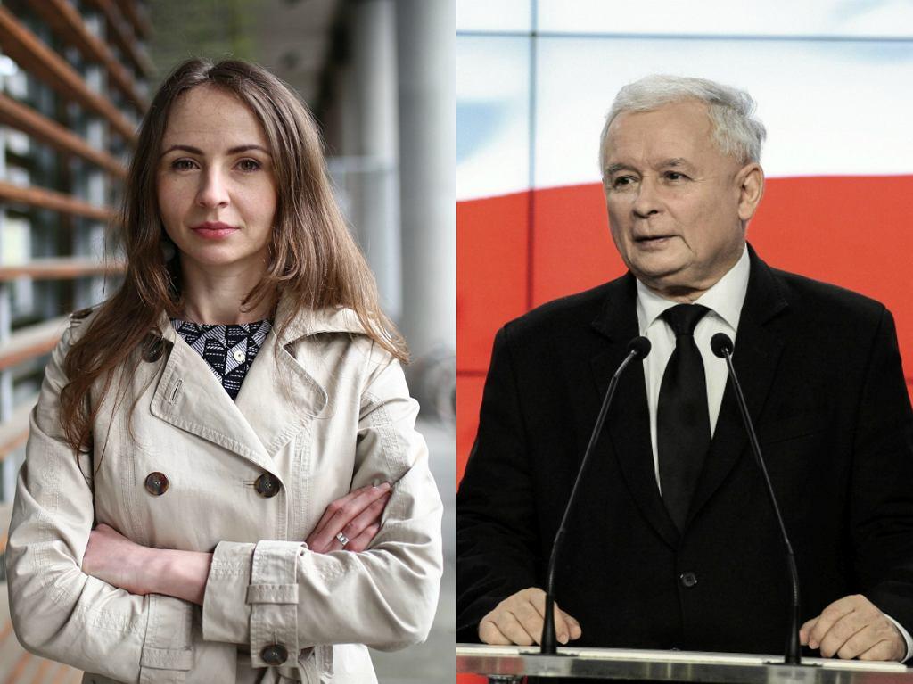Agnieszka Dziemianowicz-Bąk / Jarosław Kaczyński
