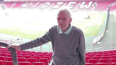 Stefan Kowalczyk, 91-letni kibic Widzewa