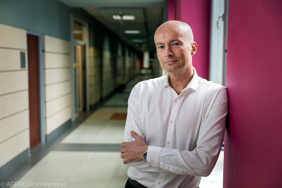 Prof. Grzegorz Juras, rektor-elekt katowickiej Akademii Wychowania Fizycznego