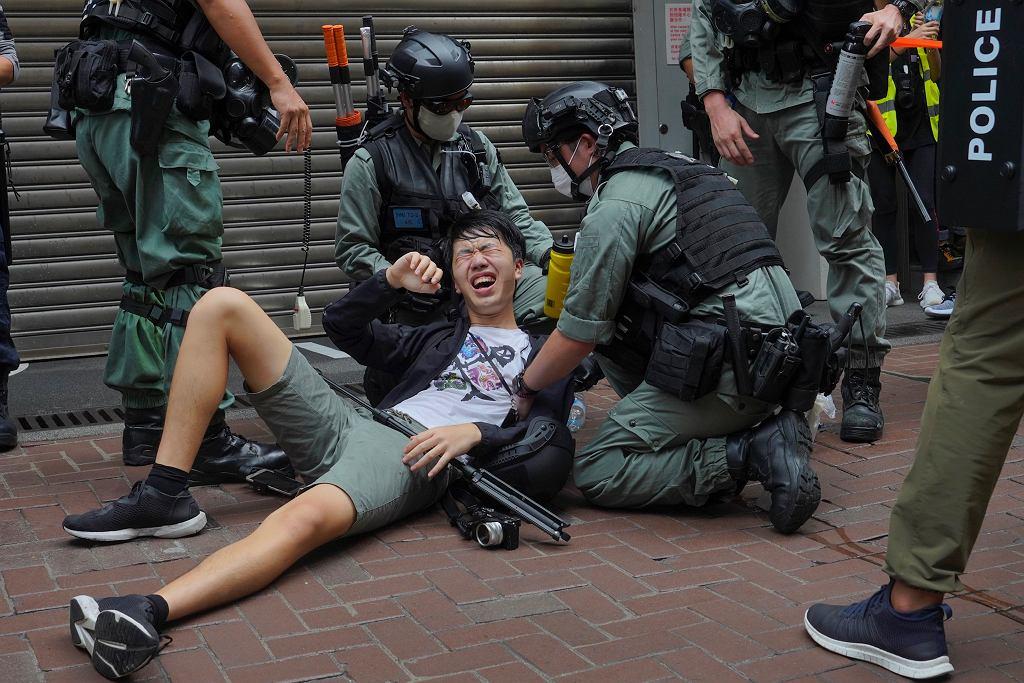 Protesty w Hongkongu